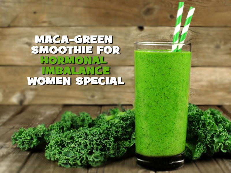 maca green smoothie