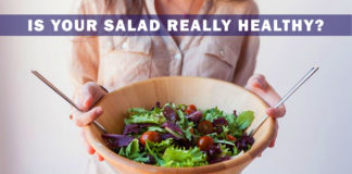 Is your salad really healthy
