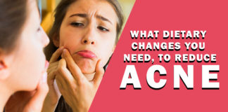 What dietary changes you need, to reduce acne